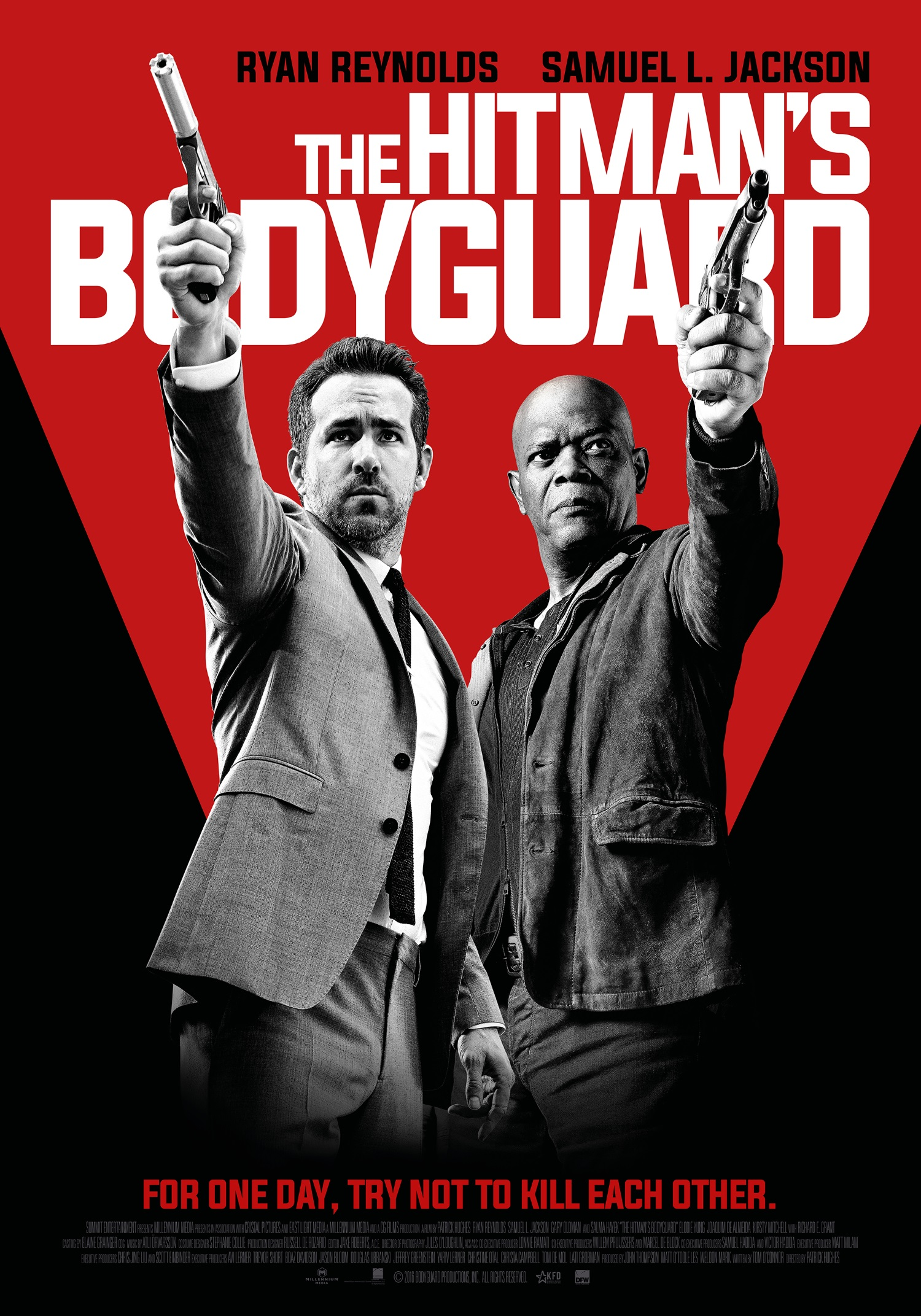 2 New Posters And Featurette For The Hitman S Bodyguard Teaser