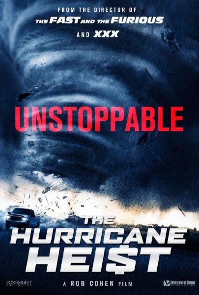 The Hurricane Heist Movie Poster