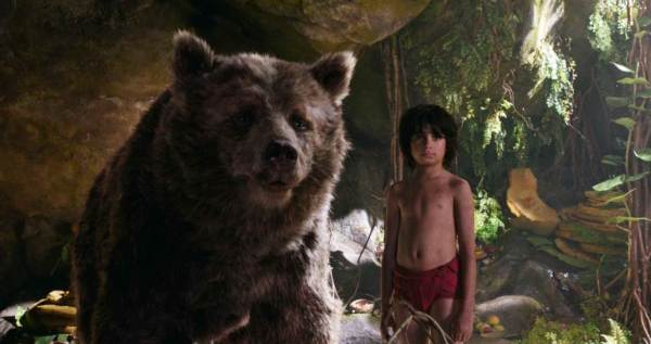 The Jungle Book Movie 2016 - Mowgli and Baloo