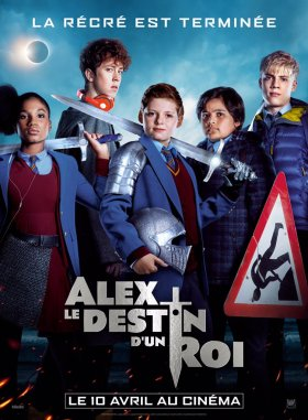 The Kid Who Would Be King French Poster