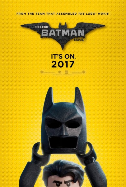 The Lego Batman Movie Comic Con Poster
