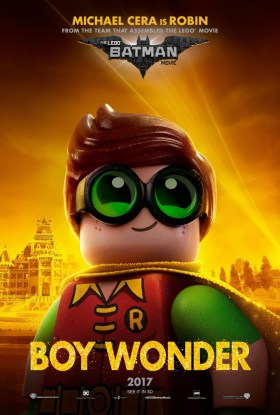 The Lego Batman Movie Character Poster - Robin, boy wonder