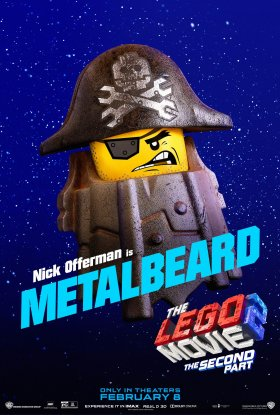 The Lego Movie 2 - Metalbeard