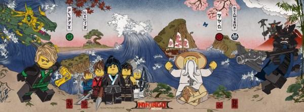 The Lego Ninjago Banner