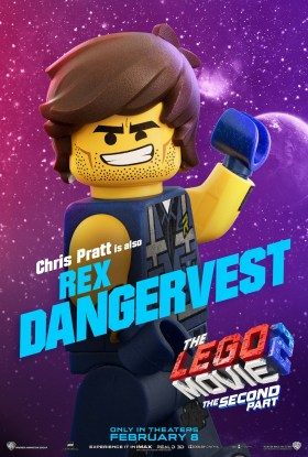 The Lego Movie 2 Character Poster - Rex Dangervest