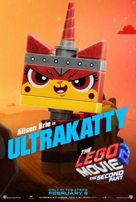 The Lego Movie 2 Character Poster - Ultrakatty