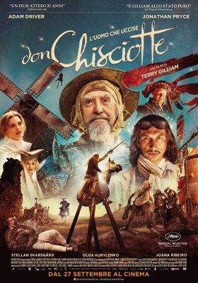 The Man Who Killed Don Quixote Italian Poster