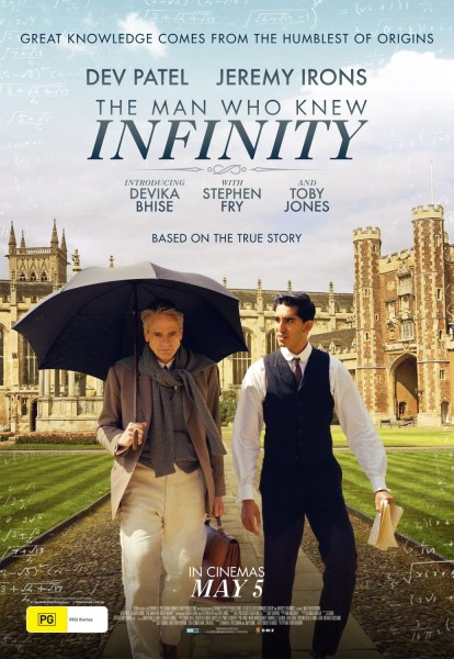The Man Who Knew infinity International Poster