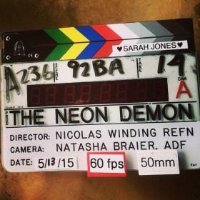 The Neon Demon Film Clapperboard