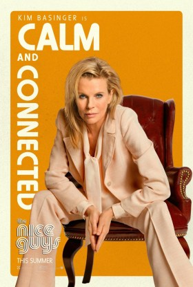 The Nice Guys - Kim Basinger is calm and connected