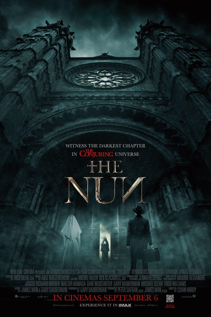 New Poster for Corin Hardy's The Nun : Teaser Trailer