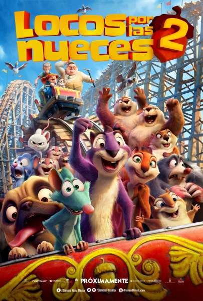 The Nut Job2 Nutty By Nature International Poster