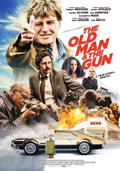 The Old Man & The Gun Film Poster