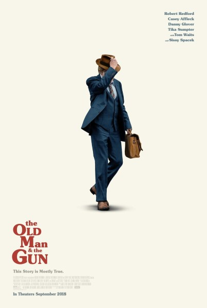 The Old Man And The Gun Movie Poster