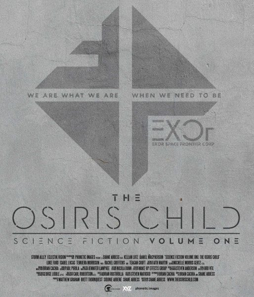 The Osiris Child Science Fiction Volume One Teaser Poster
