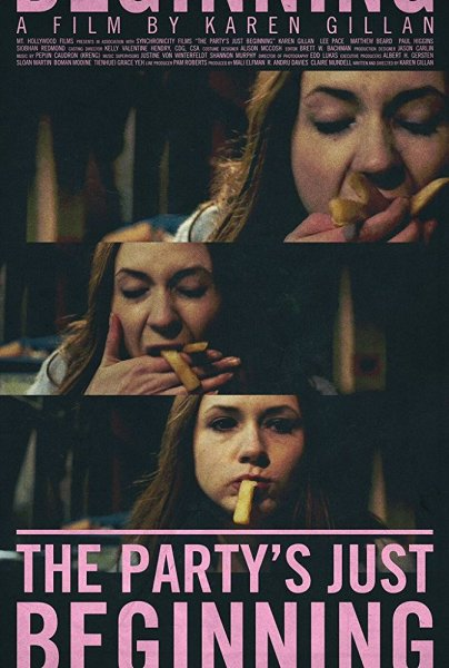 The Party's Just Beginning Movie Poster
