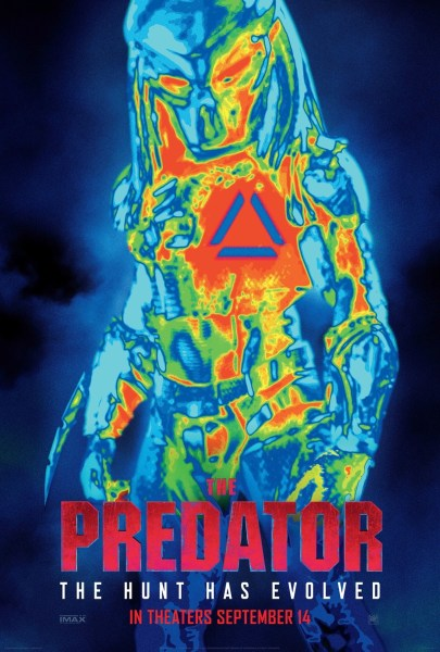 The Predator Thermal Vision Poster