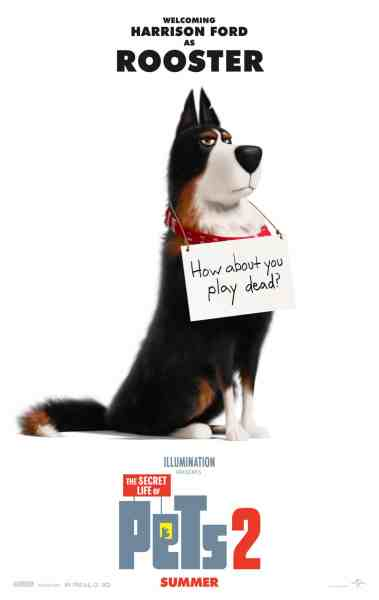 The Secret Life Of Pets 2 Rooster Poster