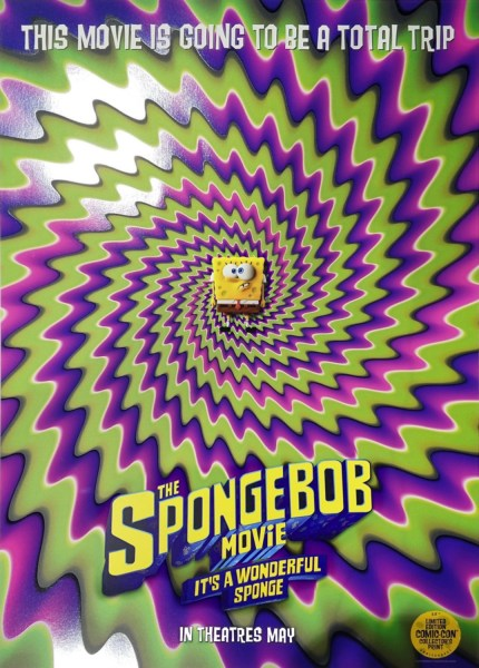The Spongebob Movie It's A Wonderful Sponge Movie Poster