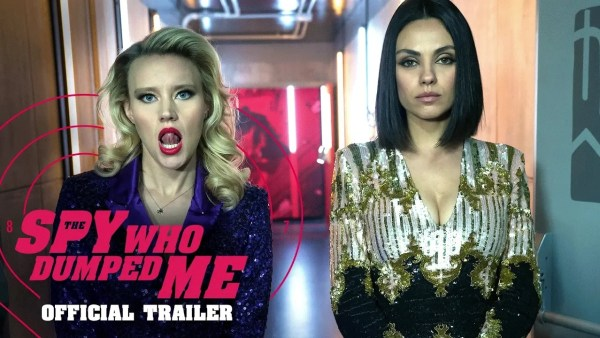 The Spy Who Dumped Me Movie 2018 Mila Kunis And Kate McKinnon