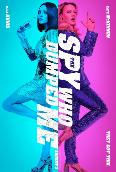 The Spy Who Dumped Me New Film Poster