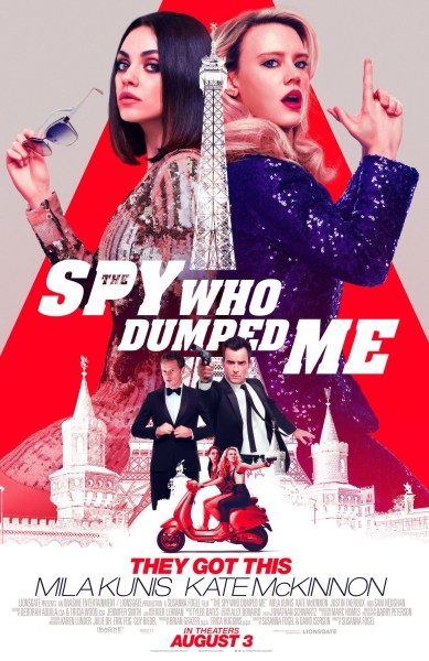 The Spy Who Dumped Me New Poster