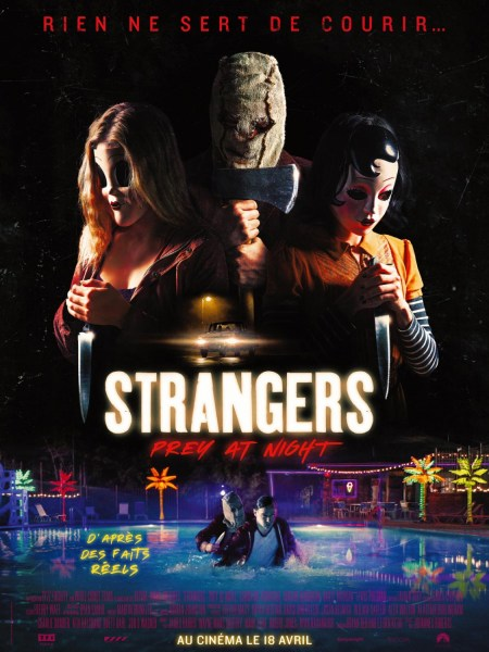 The Strangers Prey At Night New Poster from France