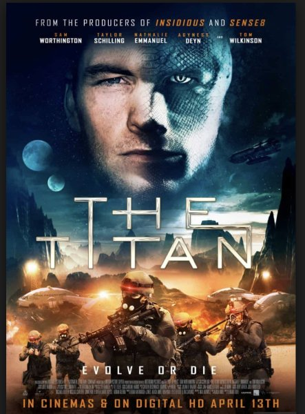 The Titan New Film Poster From The UK