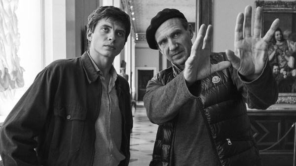 The White Crow BTS - Oleg Ivenko and Ralph Fiennes