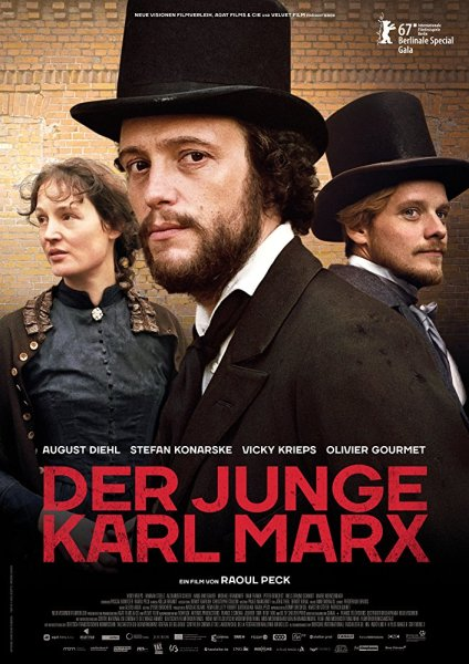 The Young Karl Marx German Poster