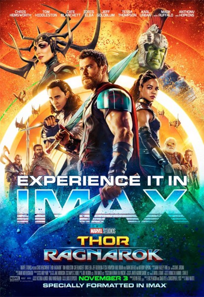 Thor 3 New IMAX Poster
