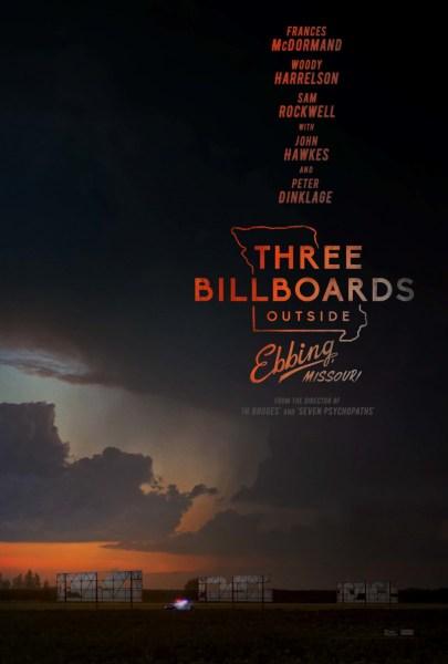 Three Billboards Outside Ebbing Missouri Poster