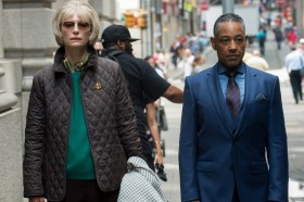 Tilda Swinton And Giancarlo Esposito - Okja Movie