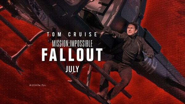 Tom Cruise - Mission Impossible 6 Fallout