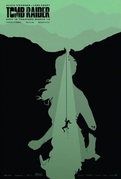 Tomb Raider Greenish Poster