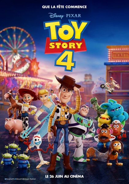 Toy Story 4 French Poster