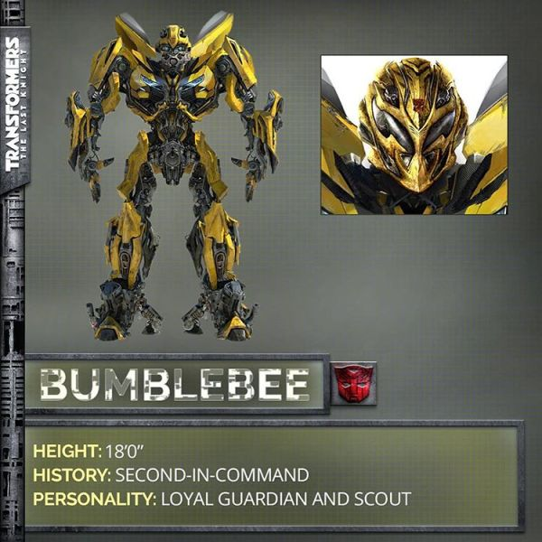 Transformers The Last Knight movie - Bumblebee