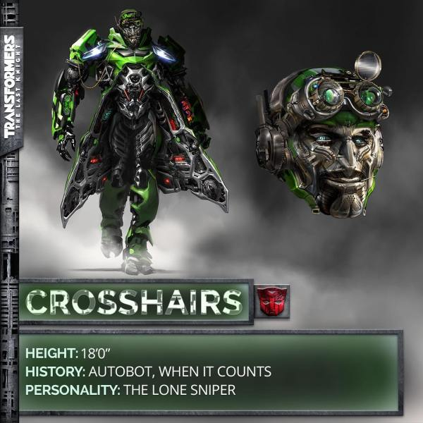 Transformers The Last Knight movie - Crosshairs