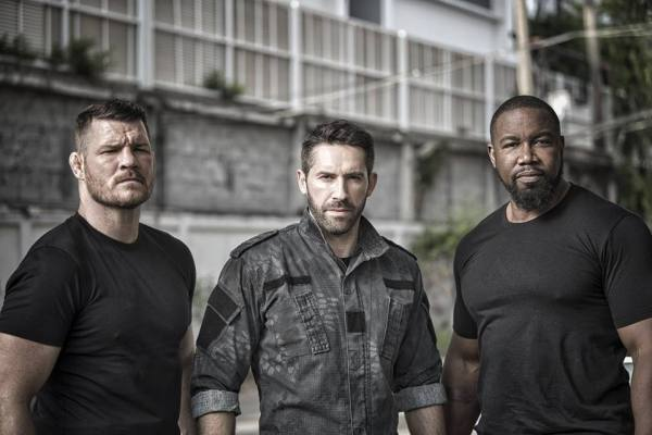Triple Threat Movie - Michael Bisping, Scott Adkins, Michael Jai White