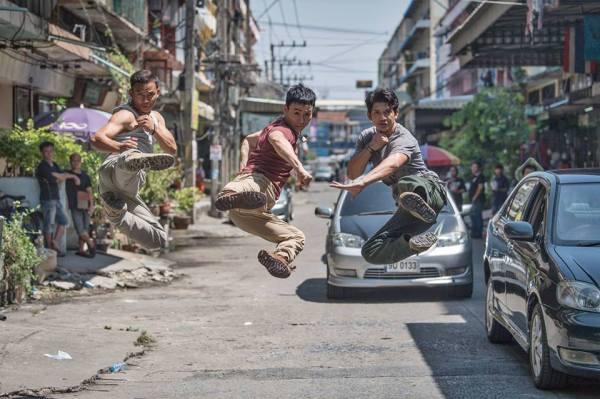 Triple Threat - Tony Jaa, Tiger Hu Chen, And Iko Uwais