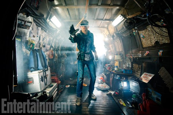 READY PLAYER ONE - Tye Sheridan as Wade Owen Watts/Parzival