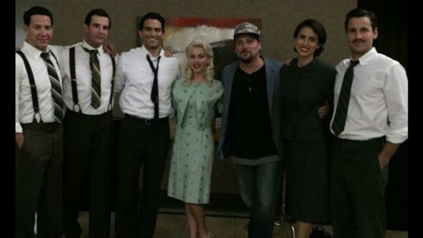 Tyler Hoechlin, Andy Weiss, Jay Jablonski, Diane Sorrentino, Julianne Hough, And Skyler Hart in the movie Bigger