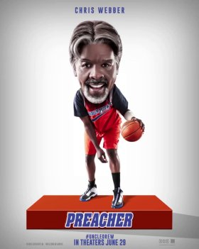 Uncle Drew Movie Character Poster - Chris Webber