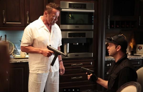 Arnold Schwarzenegger and Taran Killam in Why We're Killing Gunther, written and directed by Killam. The action comedy is produced by Killam, Kim Leadford, Ash Sarohia and Steve Squillante, and financed by StarStream Media. IMR International is handling international sales.