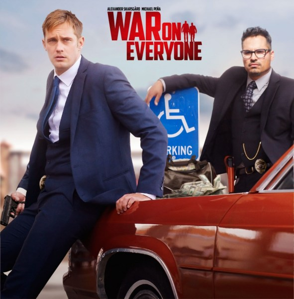 War on Everyone Movie 2016