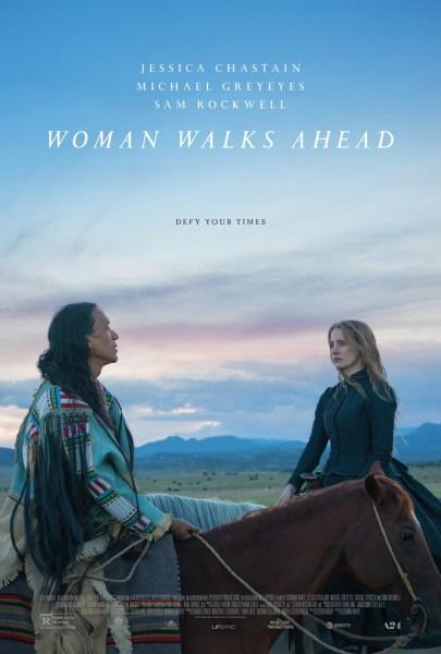 Woman Walks Ahead Movie Poster