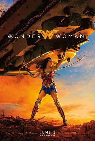 Wonder Woman Latest Poster