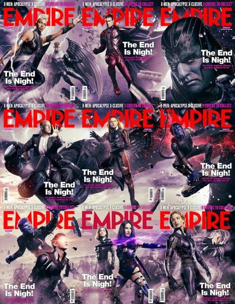 X-Men Apocalypse Empire Covers