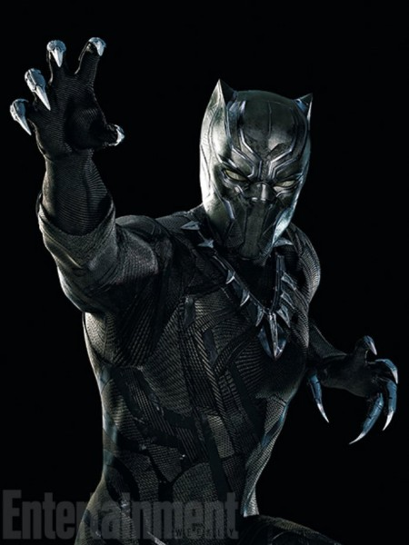 Black Panther - Captain America 3 Film