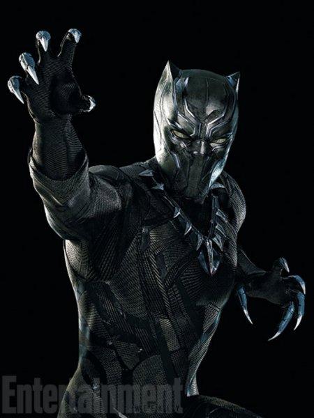Black Panther - Captain America 3 Film